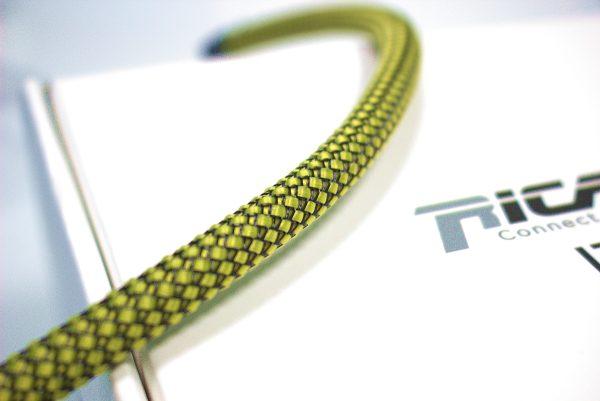 Custom YB08 Giallo/Nero - Calza per cavo 4-10 mm guaina estensibile