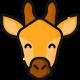 africa icona giraffa